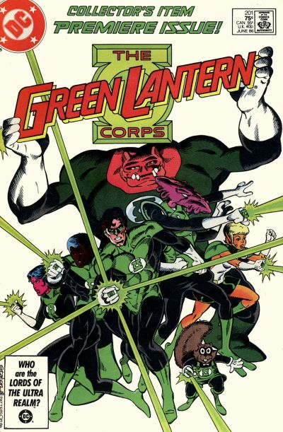 Green Lantern Corps #201