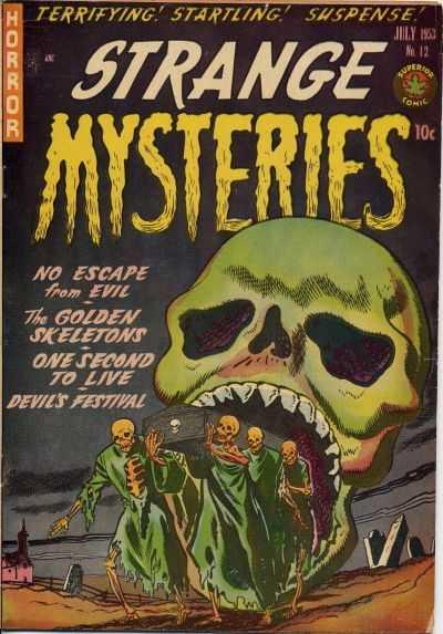 Strange Mysteries #12