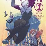 Spider-Gwen & Earth 65