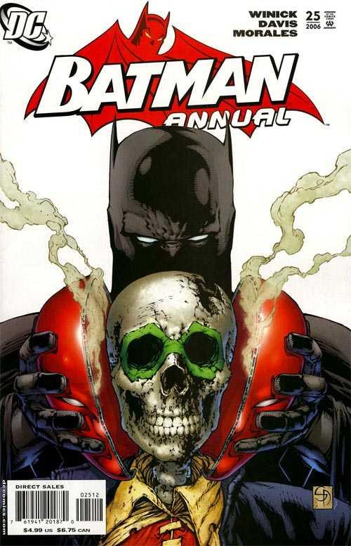 Batman Annual #25 2nd Printing