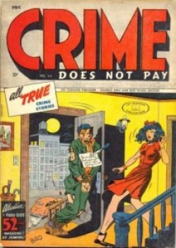 CRIME DOES NOT PAY #43