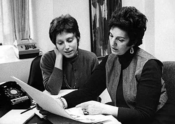 Liz Berube (unconfirmed) & Dorothy Woolfolk