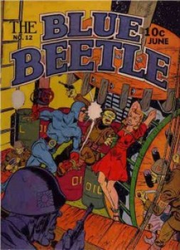 BLUE BEETLE #12