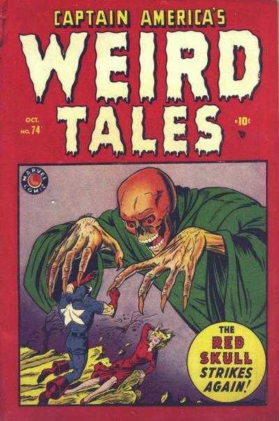 CAPTAIN AMERICA COMICS #74