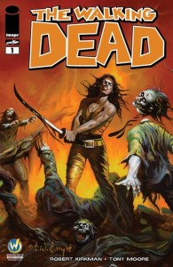 The Walking Dead #1 Wizard World Comic Con Richmond Exclusive Variant Cover by Ken Kelly
