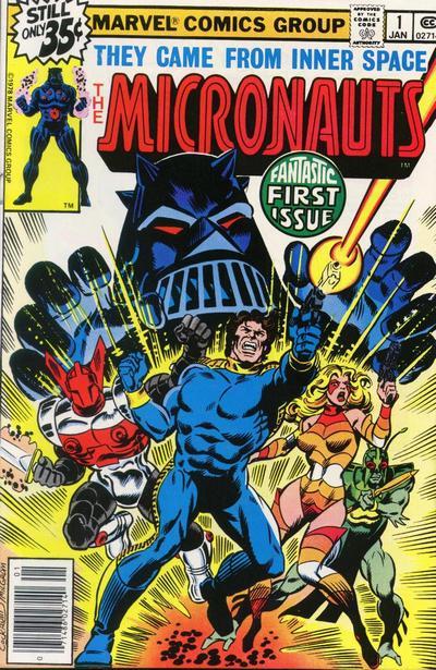 Micronauts #1
