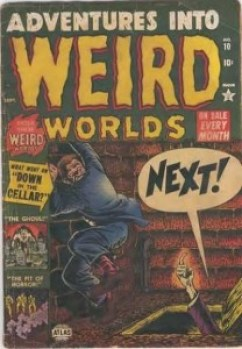 Adventures into Weird Worlds #10