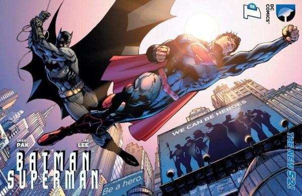 Batman / Superman #1 We Can Be Heroes Variant