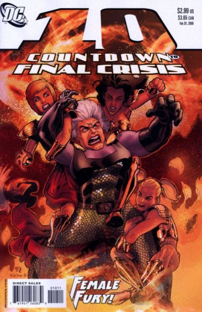 Countdown to Final Crisis #10