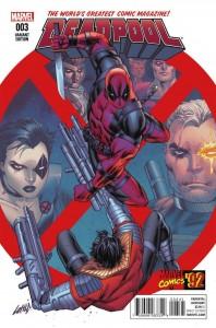 Deadpool #3 Liefeld Variant