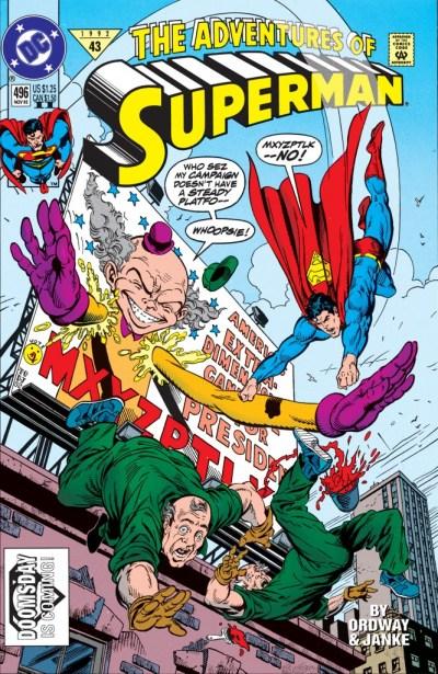 Adventures of Superman #496
