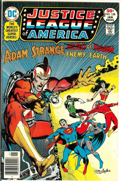 Justice League of America #138 by Neal Adams