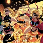 Ms Marvel #25 / Captain Marvel #4 – Retailer Incentive Connecting Variants