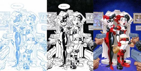 Harley Quinn #23 Bruce Timm Variants