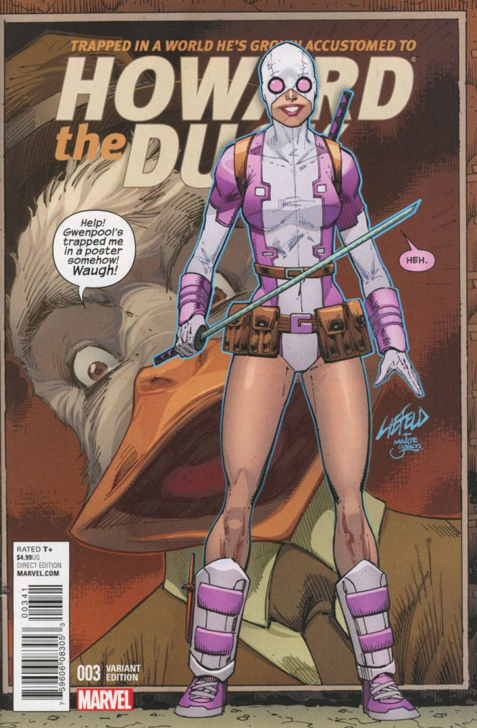 Howard the Duck #3 Rob Liefeld Variant