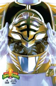 Mighty Morphin Power Rangers #0 White Ranger Variant