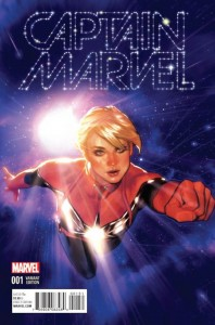Captain Marvel #1 Adam Hughes Variant
