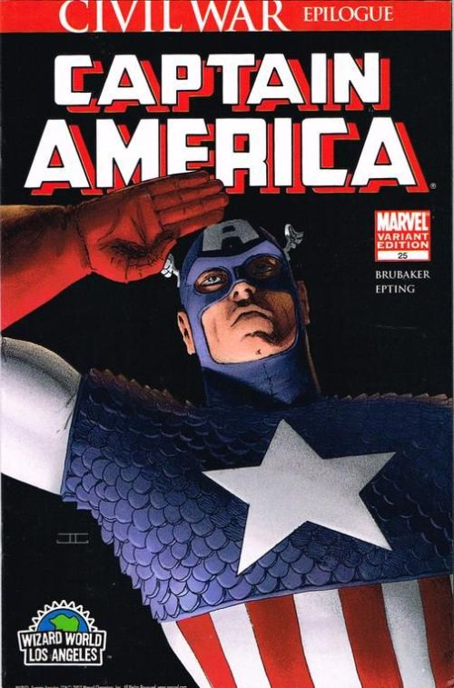 Captain America #25 WWLA Variant