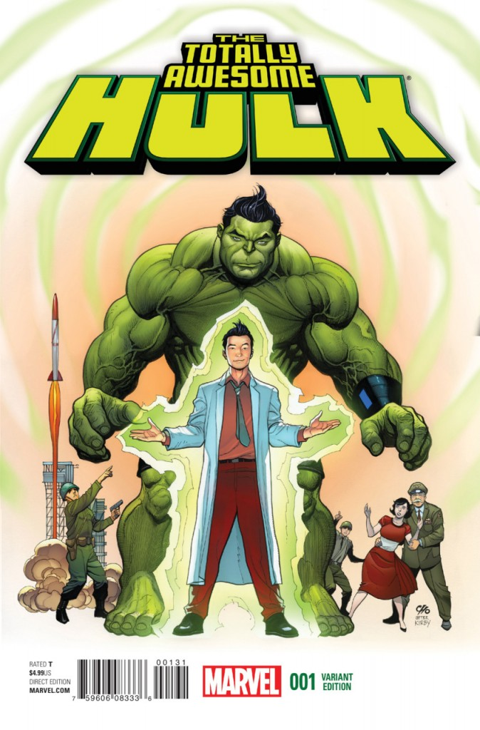Totally Awesome Hulk #1 Frank Cho Variant