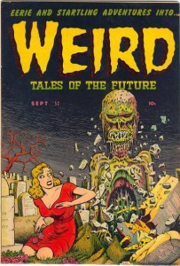 Weird Tales of the Future #3 - Classic Wolverton Cover
