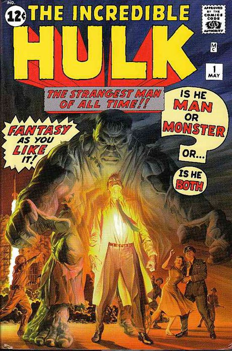 Hulk Omnibus #1 Alex Ross Cover