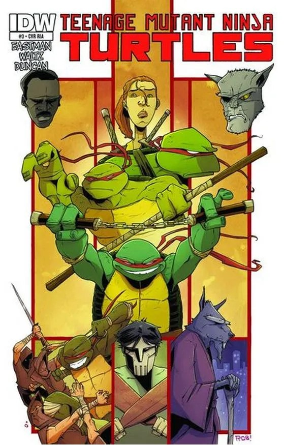 TMNT 6 Guillory Variant