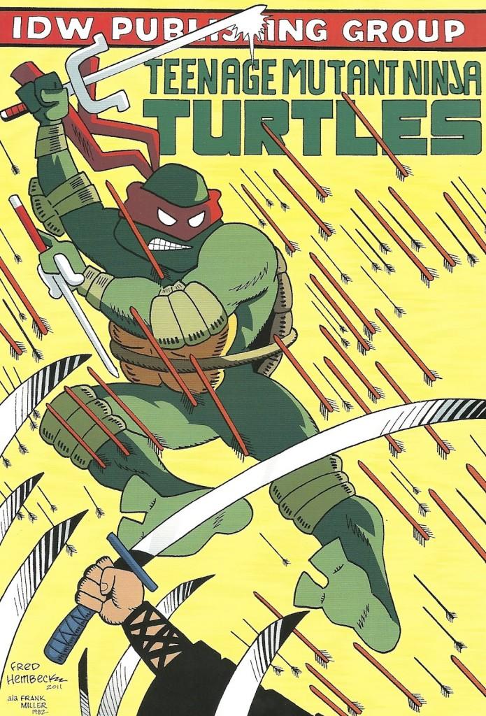 Teenage Mutant Ninja Turtles #2 Hembeck Variant