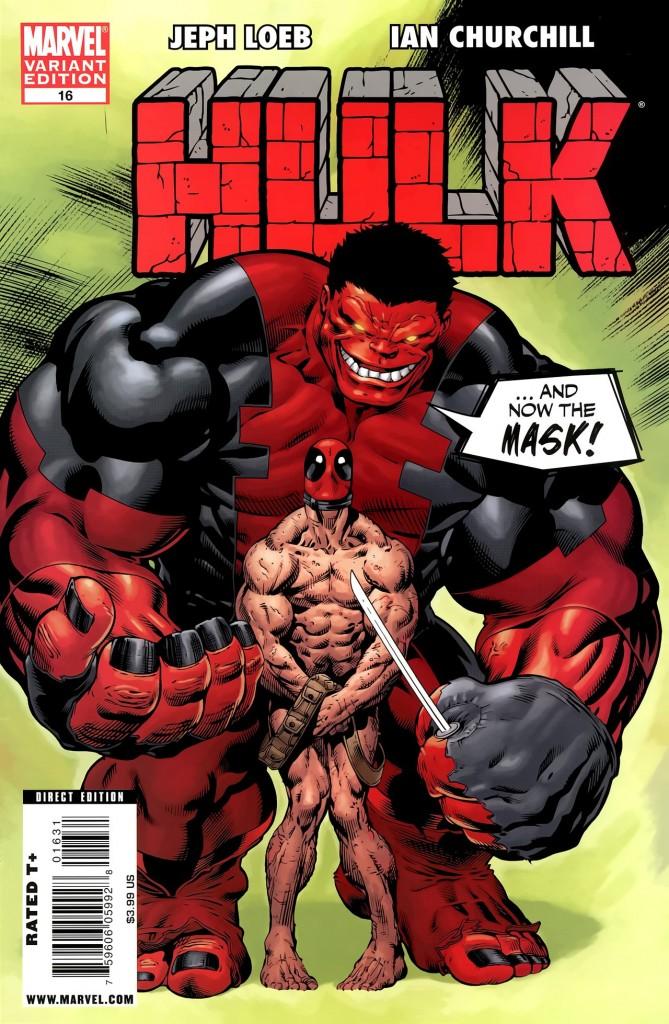 Hulk #16 Ed McGuinness Variant
