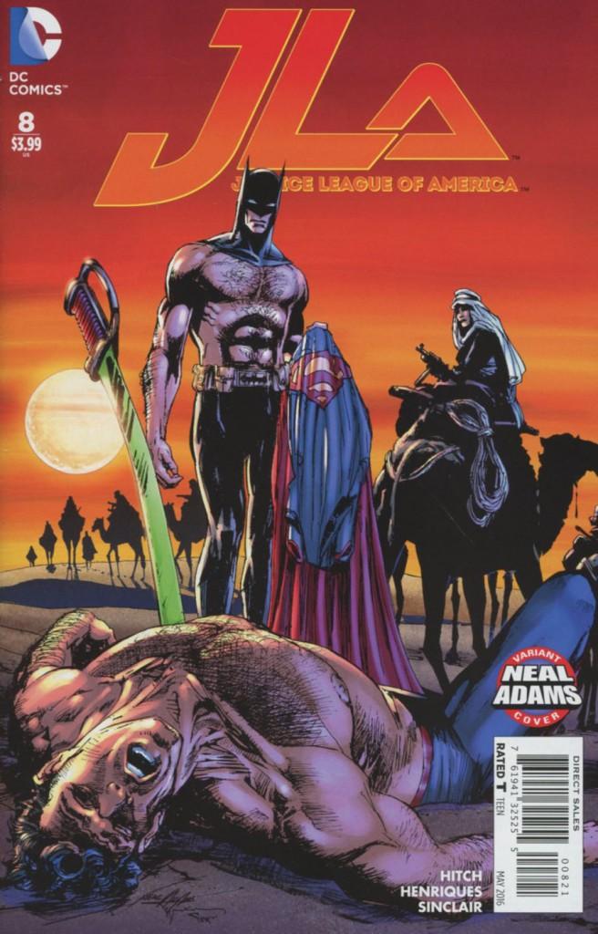 Justice League Of America Vol 4 #8 Neal Adams Variant