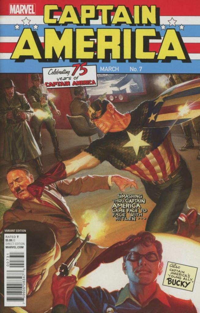 Captain America #7 Alex Ross Variant