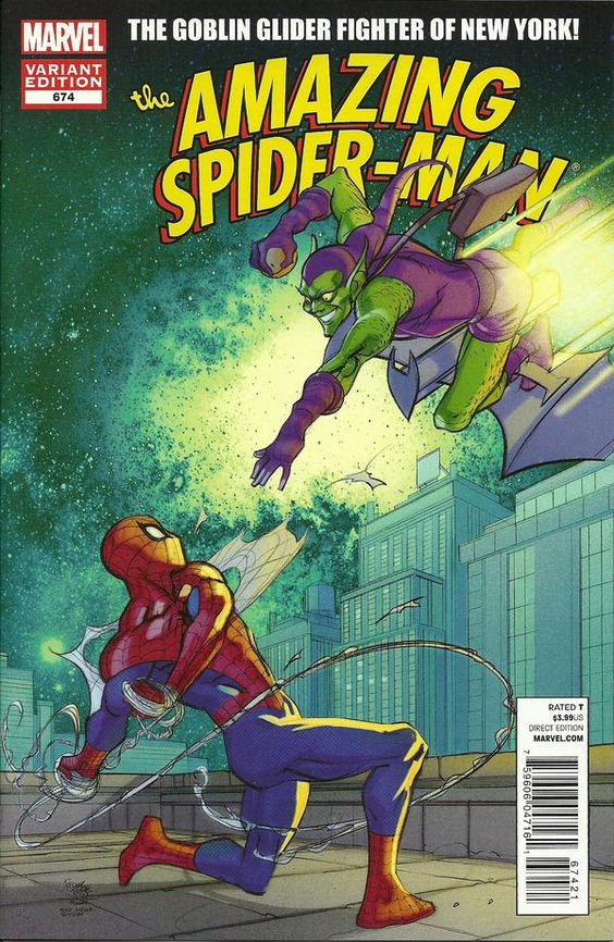 Amazing Spider-Man #674 Pasqual Ferry Marvel 50th Anniversary Variant