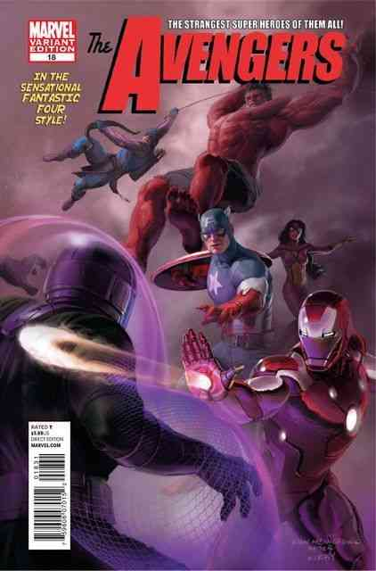 Avengers #18 Marvel 50th Anniversary