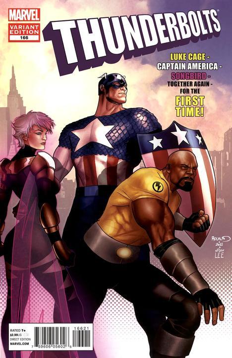 Thunderbolts #166 Marvel 50th Anniversary