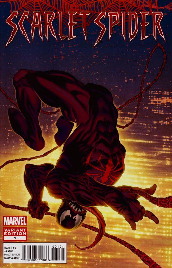 Scarlet Spider #1 Venom Variant