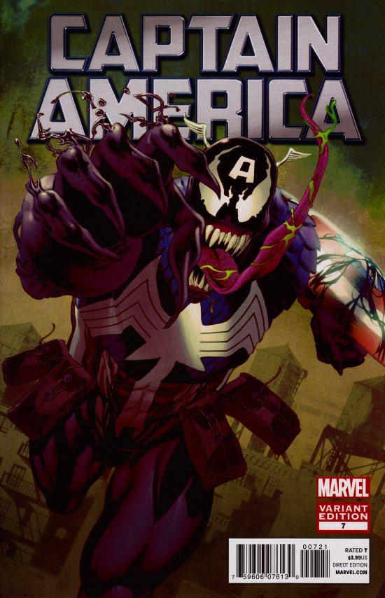 Captain America #7 Venom Variant
