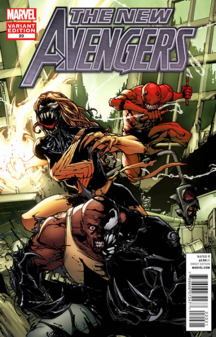 New Avengers #20 Venom Variant