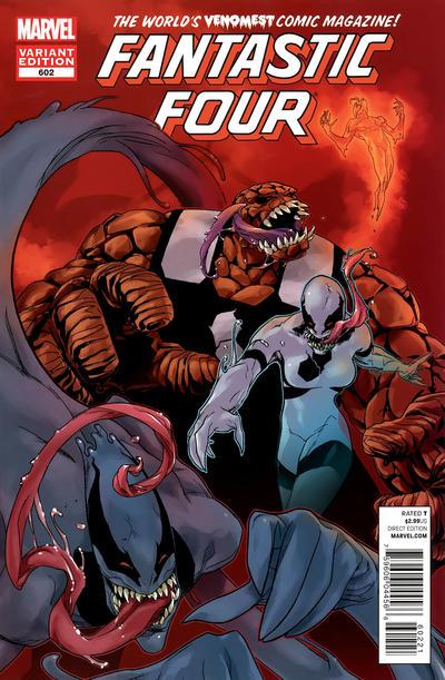 Fantastic Four #602 Venom Variant