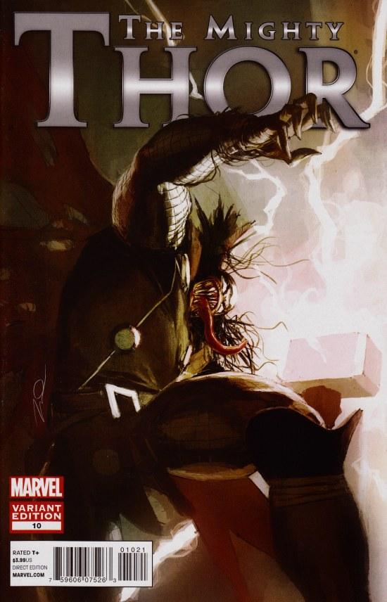 Mighty Thor #10 Venom Variant