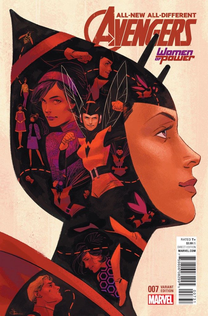 All-New All-Different Avengers #7 by Evan Shaner