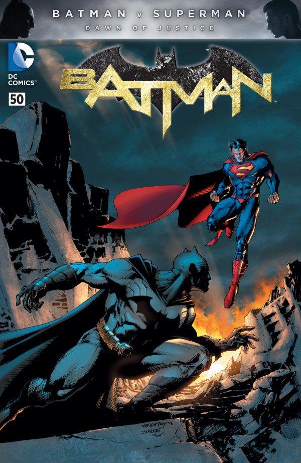 Batman #50 Chris Daughtry and Jim Lee Variant