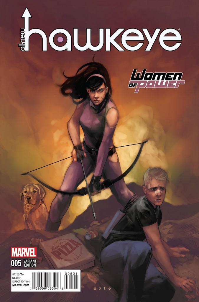 All-New Hawkeye #5 by Phil Noto