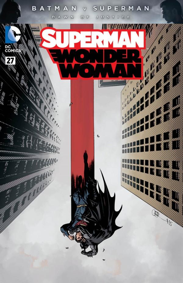 Superman / Wonder Woman #27 Charlie Adlard Variant