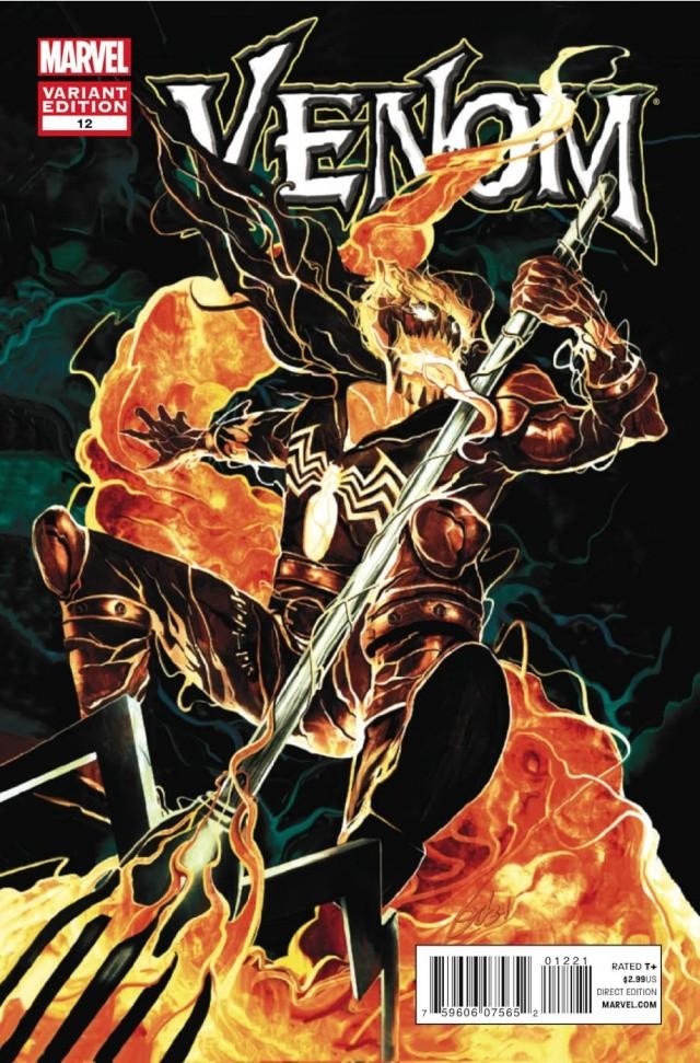 Venom #12 Mike Del Mundo Venom Variant