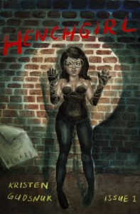 Cover of the self-published first issue