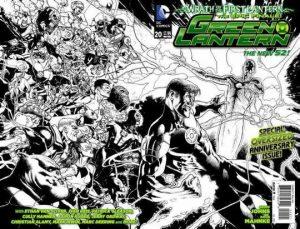 Green Lantern #20 Sketch Variant