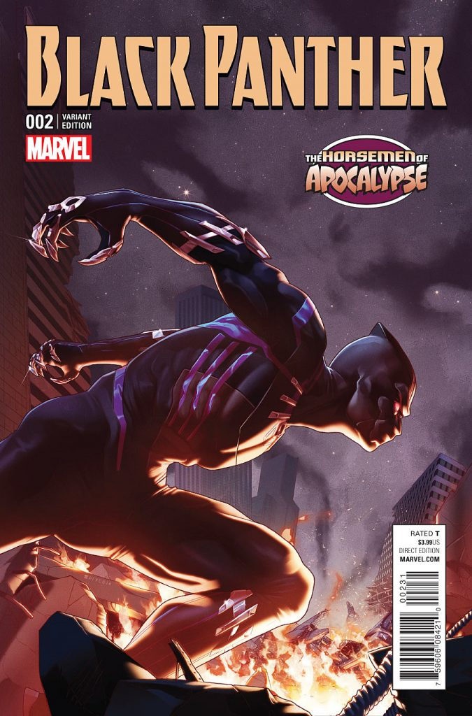 Black Panther #2 Horsemen of Apocalypse Variant