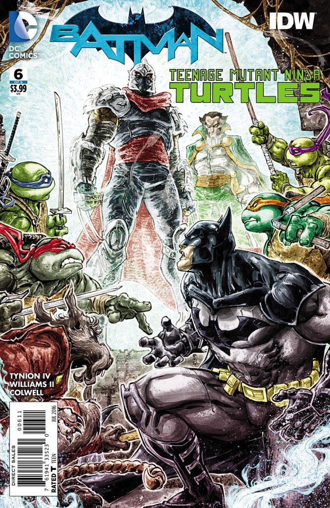 Batman / TMNT #6