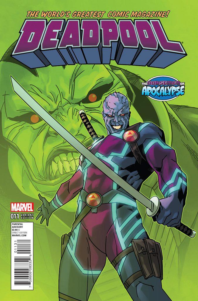 Deadpool #11 Horsemen of Apocalypse Variant