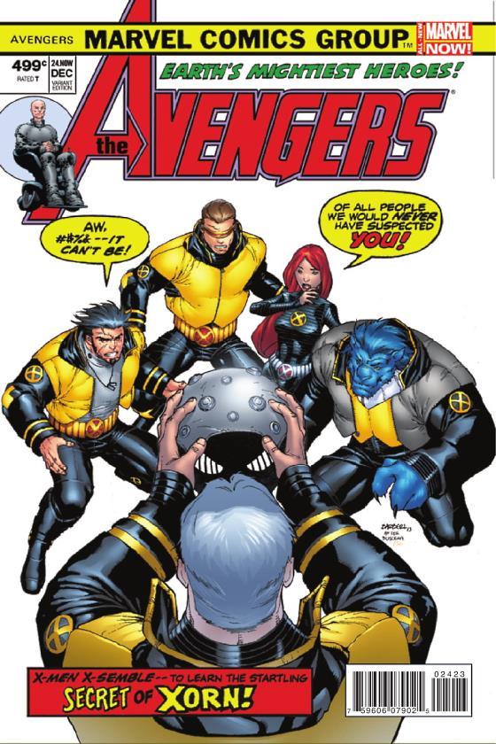 Avengers 24 Carlo Barbieri Variant