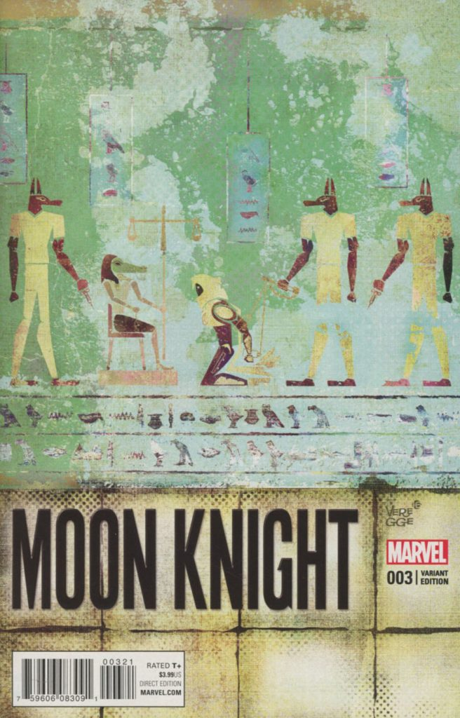 Moon Knight #3 Jeffrey Veregge 1:25 Variant